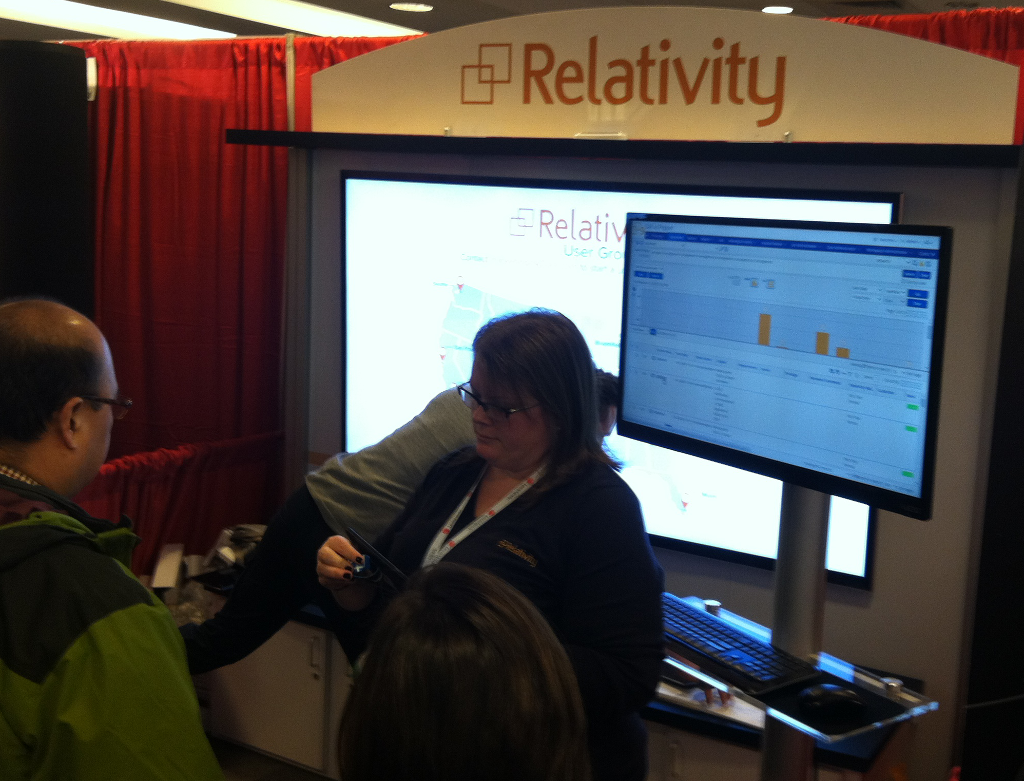 Relativity Booth LegalTech NYC